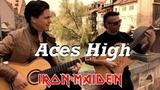 Aces High (IRON MAIDEN) Acoustic - Thomas Zwijsen &amp Ben Woods