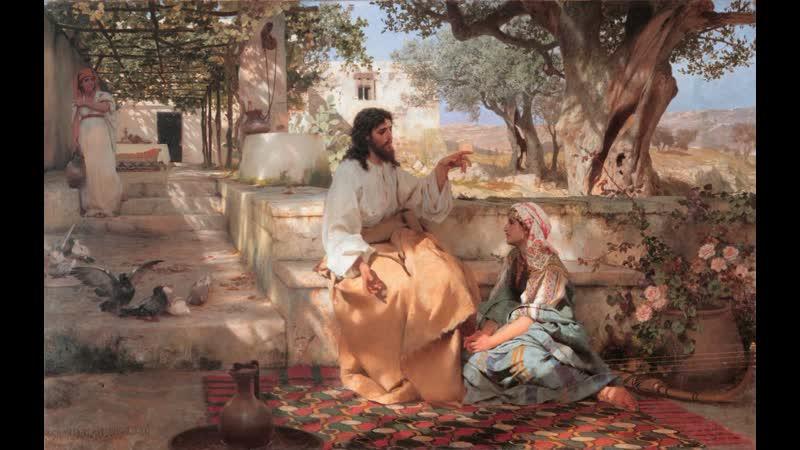 Самарянка у калодца святая мученица Фотиния