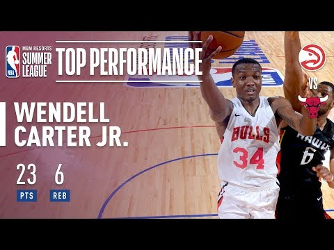 Wendell Carter Jr. Puts up 23pts 6rebs in 2018 MGM Resorts Summer League Action