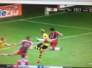 Javi Martinez HORROR KNEE Injury ! Borussia Dortmund vs Bayern Munich | DFL SuperCup 2014
