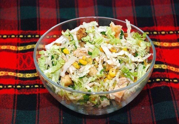 салаты без майонеза сохрани пригодится 1. салат из пекинской капусты без майонезаингредиенты:капуста 1 шт.лук 1 шт.грудка куриная 1 шт.растительное масло по вкусу кукуруза консервированная 1