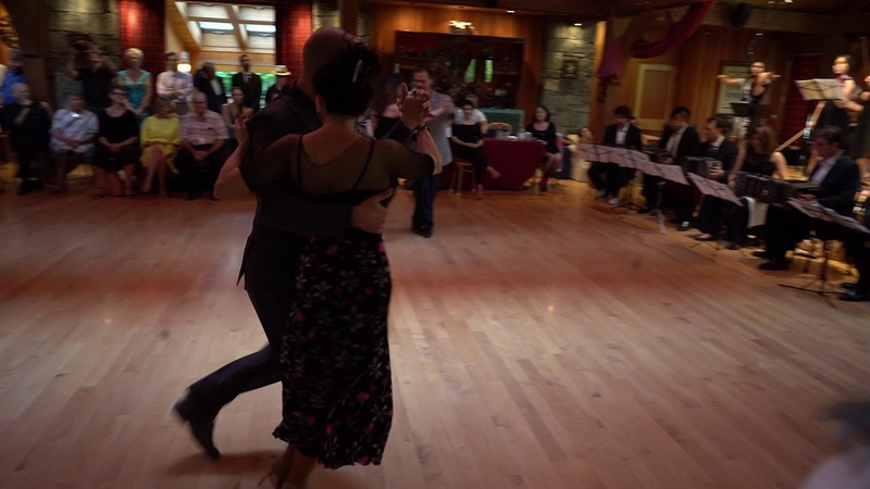 Farewell Dance of the Masters at the Stowe Tango Music Festival 2018