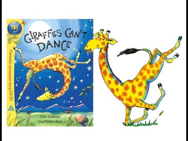 Giraffe's Can't Dance - Read-Along - Narration and Music by Ollie Heath - UPBEAT ABOUT BOOKS TV
