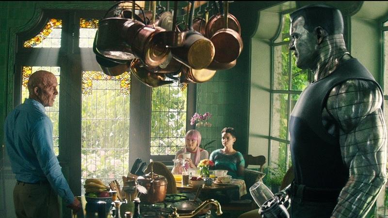 Дэдпул 2 удаленная сцена В Икс особняке