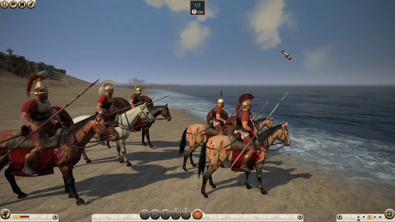 Total War™ ROME II Emperor Edition 1 Отдыхаем на пляже