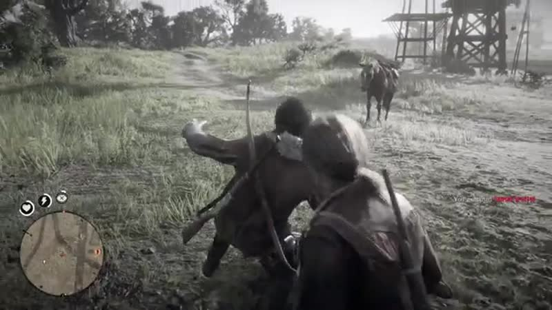 There was an attempt to grief. Red Dead Online