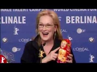 Meryl Streep Russian dolls