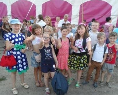 Воспитанники реабилитационного центра в Невинномысске посетили цирк-шапито