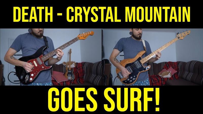 Amphibian Man - Surfing Mountain || Death - Crystal Mountain || Metal Goes Surf