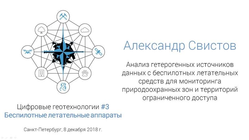Александр Свистов. Анализ гетерогенных источников данных с БПЛА (спбгеотех)