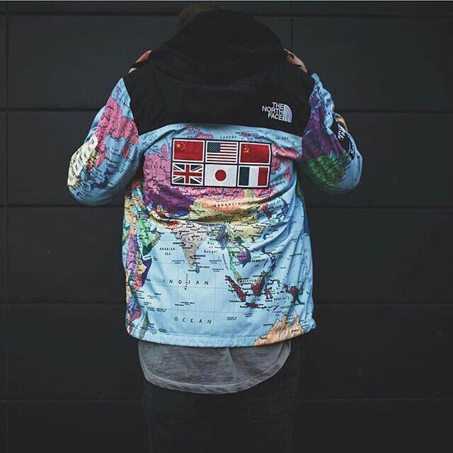 Та самая куртка Supreme x TNF Все 4 цвета