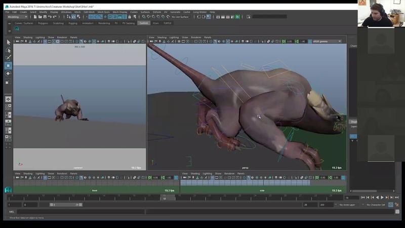 VFX Workshop Part 2 Posing and Overlap