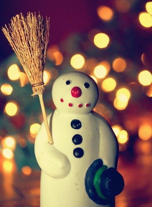 сніговик для Нового року