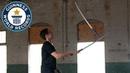 Гиннесс. Мировые рекорды – жонглирование самурайскими мечами