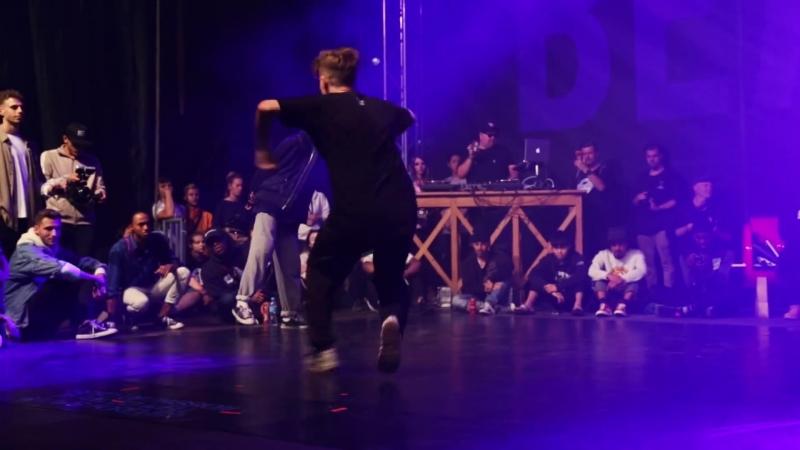 BOUBOO vs PIOTR PI feat. EFAYBEE PASH Dance Battle To The Beatbox 2018 1 4 Final