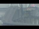 Украинские военные корабли, на глазах оккупантов, прошли под керченским мостом.
