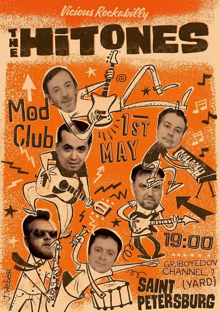 01.05 The Hi-TONeS в клубе MOD