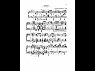 Ashkenazy plays Rachmaninov Prelude in C sharp minor, Op.3 No.2