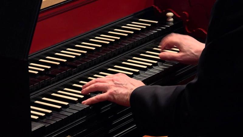 J.S. Bach: The Art of Fugue (BWV 1080), Contrapunctus VIII; Davitt Moroney, harpsichord 4K UHD