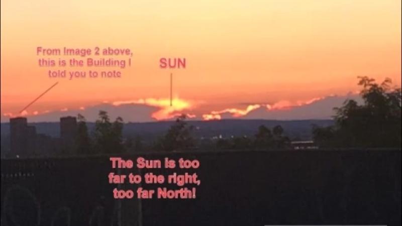 ►Ось Земли сильно сдвинулась Солнце заходит НЕ ТАМ И это видят уже многие
