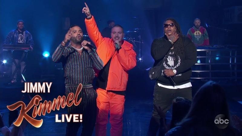J Balvin - No Es Justo (feat. Zion y Lennox) (Jimmy Kimmel Live)