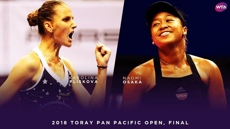 Naomi Osaka vs. Karolina Pliskova | 2018 Toray Pan Pacific Open Final 大坂なおみ | WTA Highlights