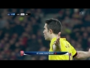 Barcelona - Arsenal. Robin van Persie sent off