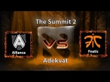 The Summit 2: Alliance vs Fnatic, русские комментаторы, 30.10.2014
