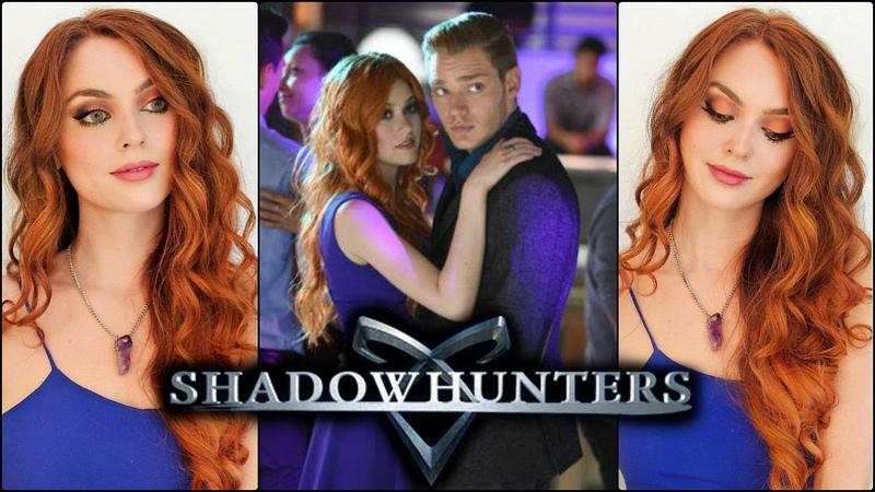 Clary Fray SHADOWHUNTERS Makeup Tutorial Copper Hair!