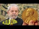 Lula será indicado ao Nobel da Paz em janeiro