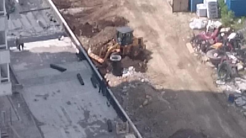 строительный мусор в основе манхеттена