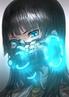 Девушка c синими глазами