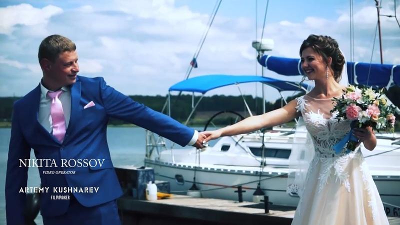 Свадебный клип Сергея и Оксаны. Музыка души моей - Любовь.