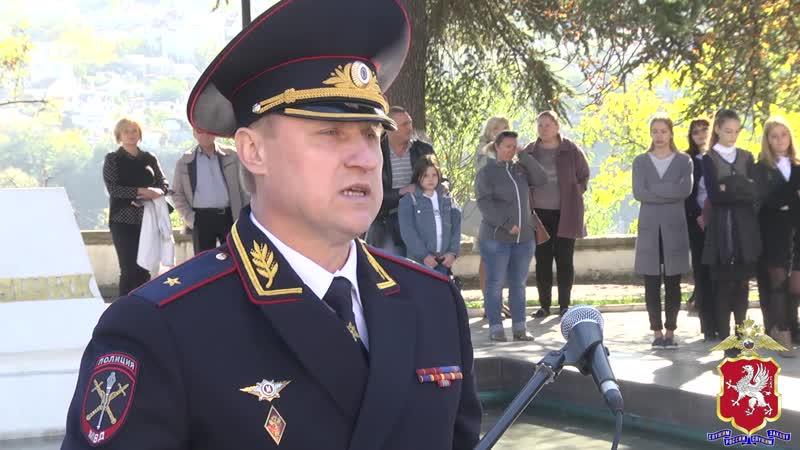 13 октября 2018 Клятва кадет МВД