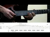 Dominant Phrygian Lick by Boma (TABS)