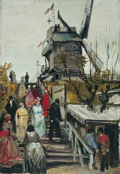 Винсент ван Гог, мельницы.