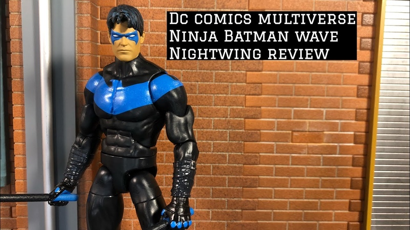 DC Comics Multiverse Ninja Batman Nightwing Review
