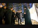 Посещение полпредом Президента РФ в ПФО Игорем Комаровым строительной площадки Казанского собора