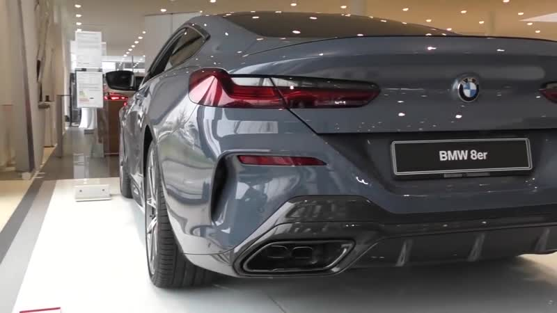 Carspotter Fabian BRAND NEW 2019 BMW M850i Coupé LOUD Start Up Revs SOUND