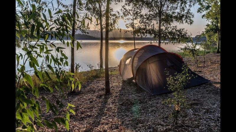 одиночный поход с ночевкой на озера