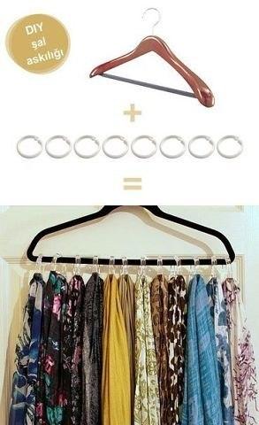 Идея для хранения платков