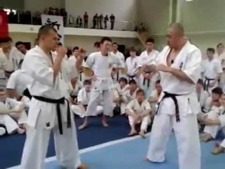 Норичика Цукамото (Norichika Tsukamoto) Дзёдан Маваси-гери.