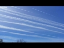 CHEMTRAILS DEATH FROM ABOVE ATTACK! GEOENGINEERING LAS VEGAS NV 3-8-17