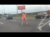 Russian women vs Russian driver. Drunk women and vodka