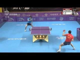 2014 China Super League Xu Xin vs Yu Ziyang [HD]
