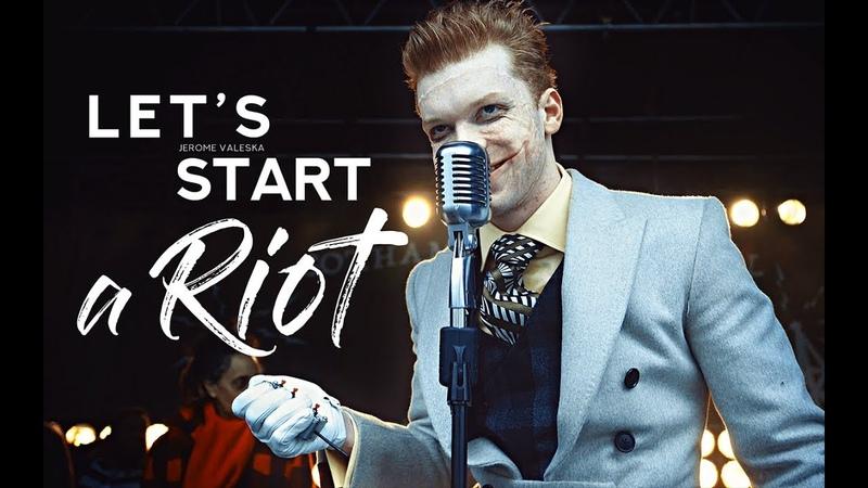 Jerome Valeska    Lets start a Riot (4x18)