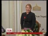 Юлія Тимошенко уперше після лікування у Німеччині з'явилась на люди