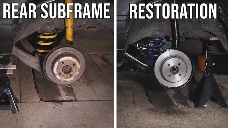 BMW E30 Rear Subframe Assembly RESTORATION | BMW E30 325i Sport Restoration E4 S1