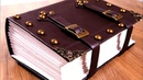 Make an EPIC, Giant TOME - Bookbinding a Faux Leather Journal