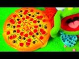 Учим фрукты и ягоды Учим овощи Игрушки на липучках Развивающая Песня про Фрукты про Овощи про Ягоды